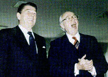 Ronald Reagan and William Casey