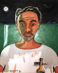 James Scott self- portrait