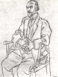 Eric Satie by Pablo Picasso
