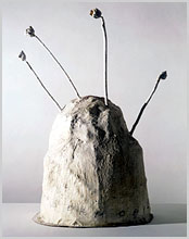 Cy Twombly sculpture
