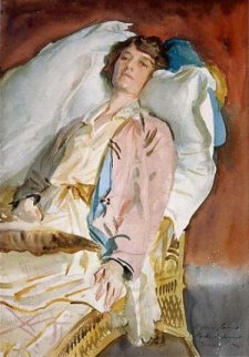 Alice James, wife of William James by Sargent