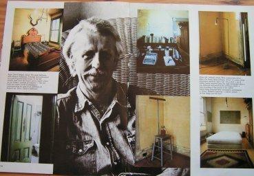 David Ireland photo of magazine layout