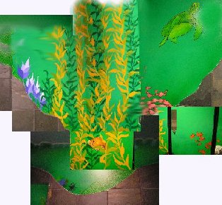 Trader Joe bathroom digital image by Fung Lin Hall