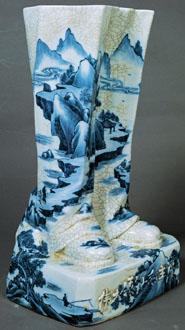 Ma Jun Mao's feet Porcelain