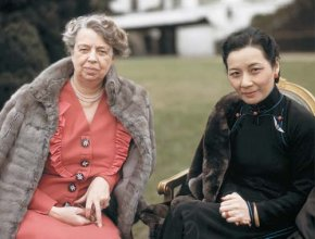 Eleanor Roosevelt and Madame Chiang Kai-Shek (Soong Mayling)