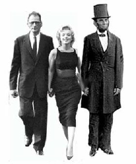 Arthur Miller, Marilyn and Abe