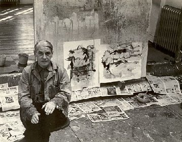 De Kooning photography by Fred McDarrah