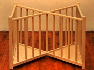 X Playpen by Robert Gober