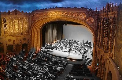 Orpheum Theater Phoenix AZ digital image by Fung Lin Hall