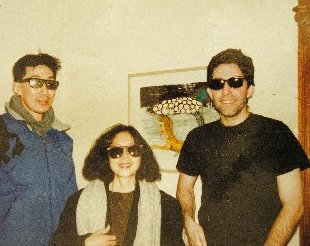 Hal, Masayo and Paul Weitz by Fung Lin Hall