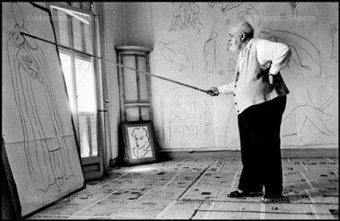 Matisse by Robert Capa