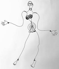 Calder Josephine Baker