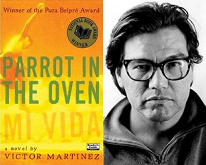 a short examination of the book parrot in the oven mi vida by victor martinez Parrot in the oven: mi vida by victor martinez before writing fiction, victor martinez made his living writing short stories and poetry many critics praise this novel because of martinez's interesting and poetic use of figurative language.