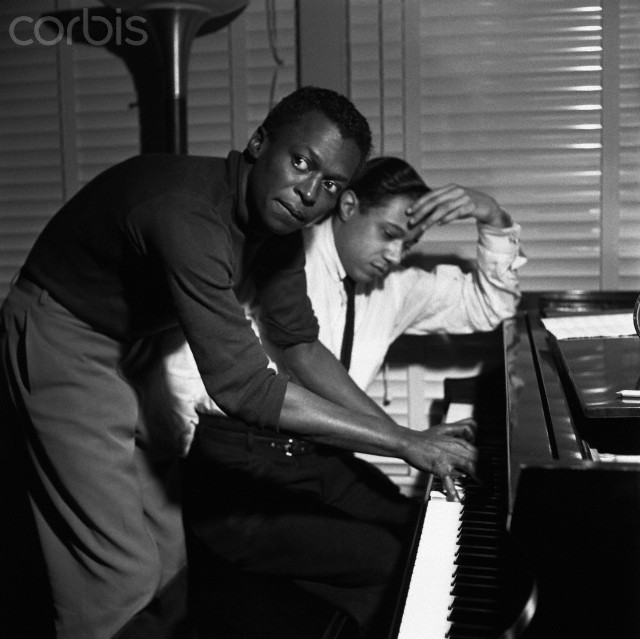 Miles Davis and Horace Silver