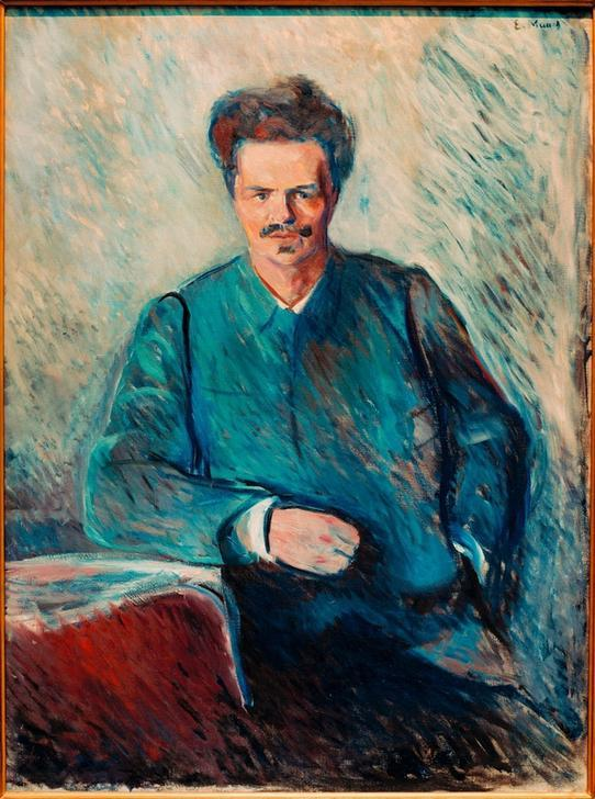 August Strindberg / Gem. v. Munch